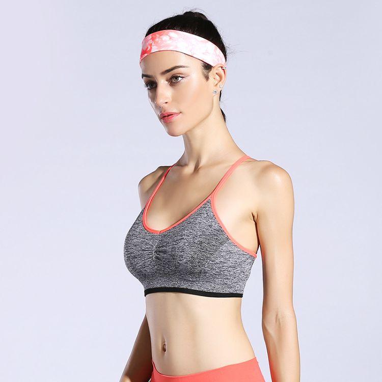 厂家直销 运动防震文胸 健身跑步内衣 速干瑜伽服夏日爆款文胸