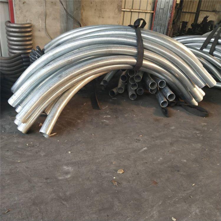弯管厂家直销碳钢弯管 喷砂小口径无缝弯管无缝小弯管批发
