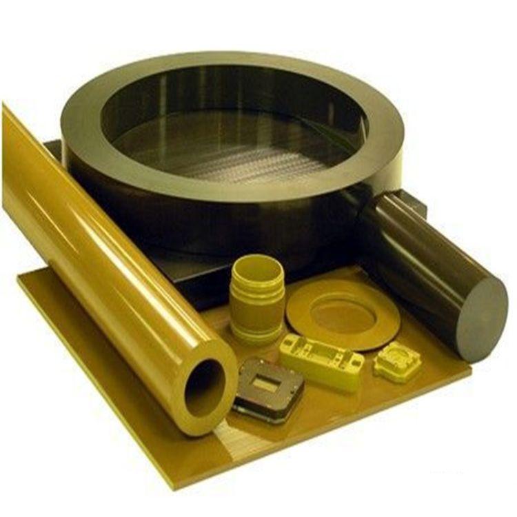 PAI板黄褐色耐磨耐高温聚酰酰亚胺板 PAI棒 棕色PI棒机床加工雕刻