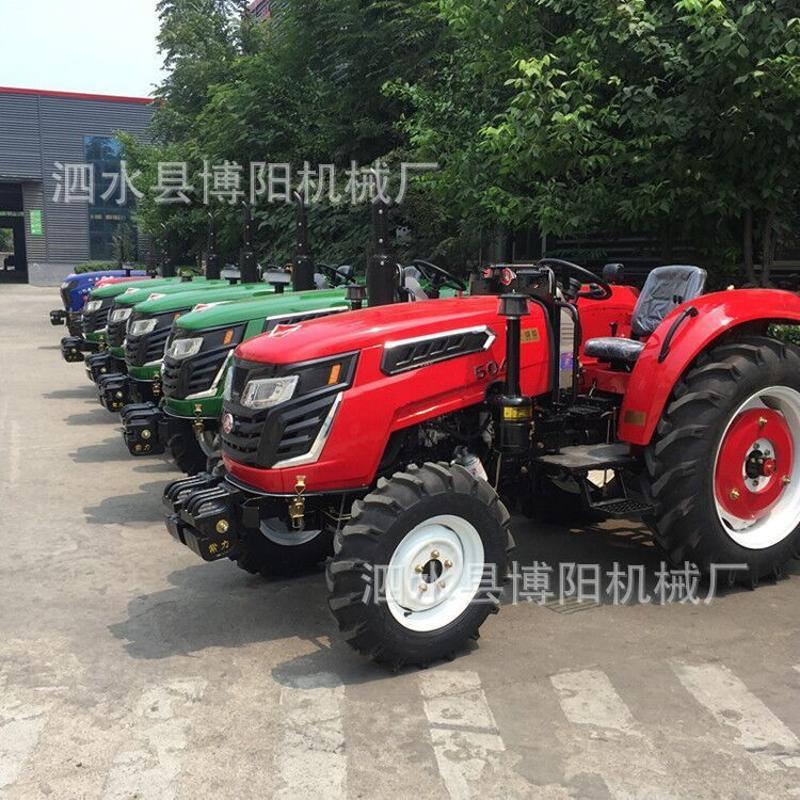 【厂家直销】农用四驱东方红动力拖拉机 多功能节油大棚王拖拉机