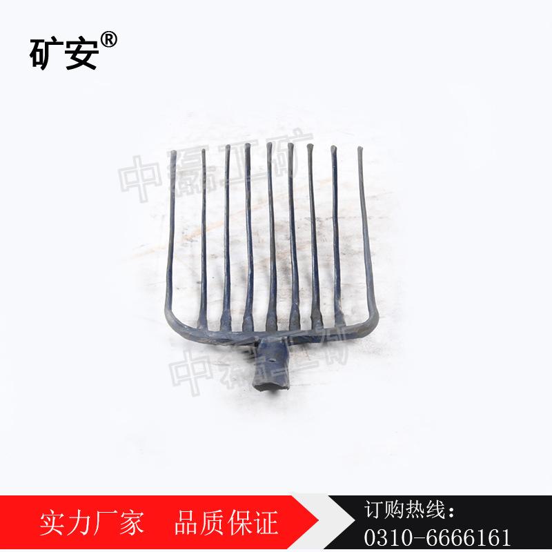 钢筋叉头九齿钢叉  一体锻造九齿叉 矿安 铁路施工工具