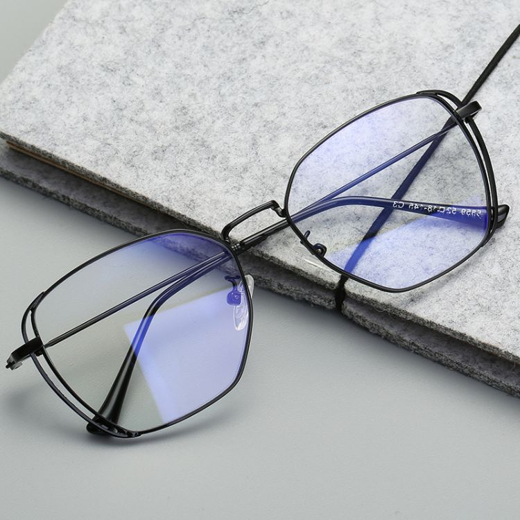 2018新款圓框光學鏡 裝飾眼鏡框網紅同款光學框架 防藍光眼鏡5859