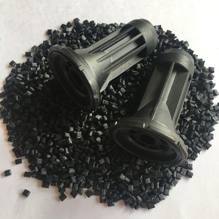黑色pps 1140A1 GF 40%耐酸碱高强度注塑级汽车元件配件 PPS原料