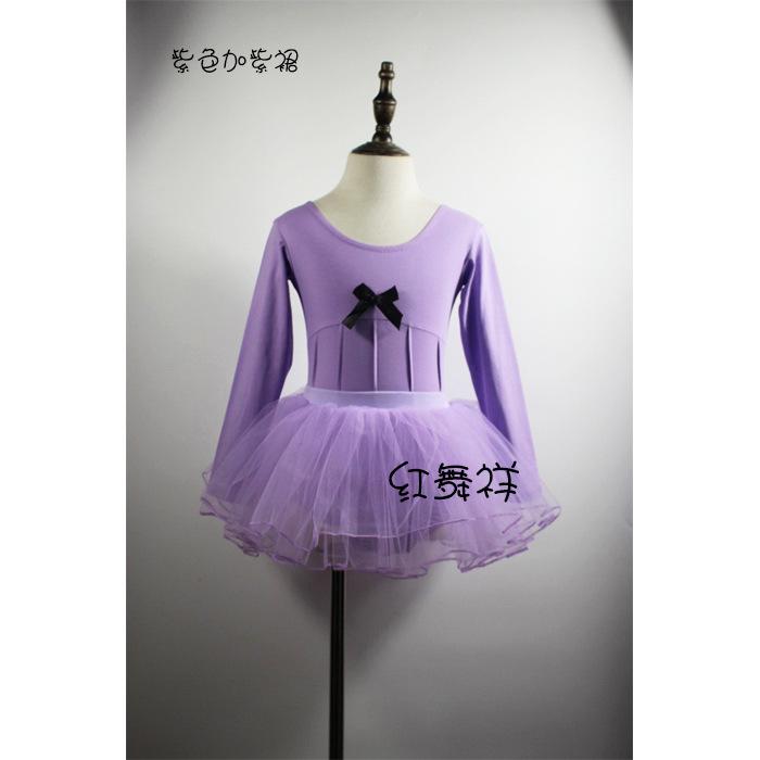 2018新款厂家直销儿童舞蹈服女练功服套装舞蹈服