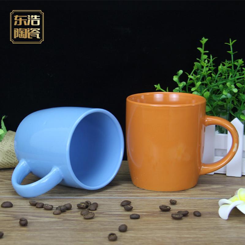 定制logo可爱陶瓷马克杯 小号奶茶咖啡杯 广告促销礼品马克杯