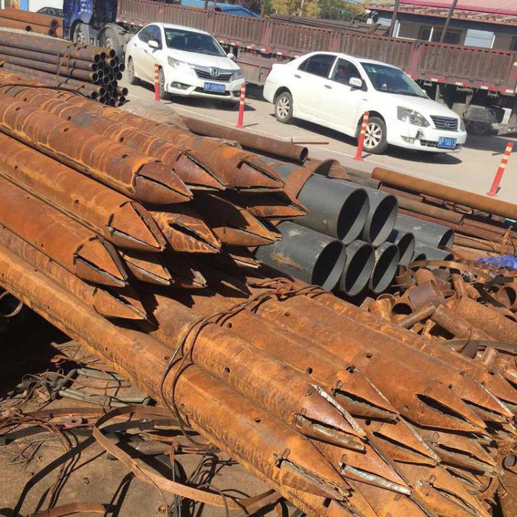 现货隧道用管棚注浆管 钢花注浆管 注浆锚杆管 加工厂家