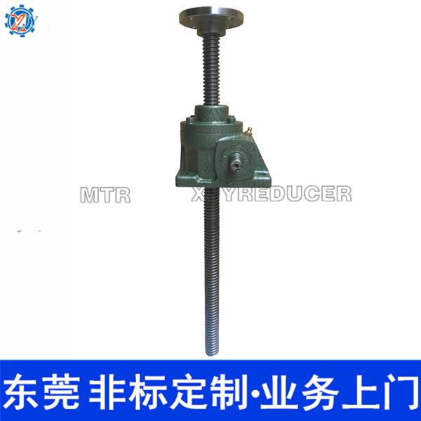 蜗杆减速机 供应SWL1吨丝杆蜗轮蜗杆同轴式减速机 蜗轮丝杆升降机