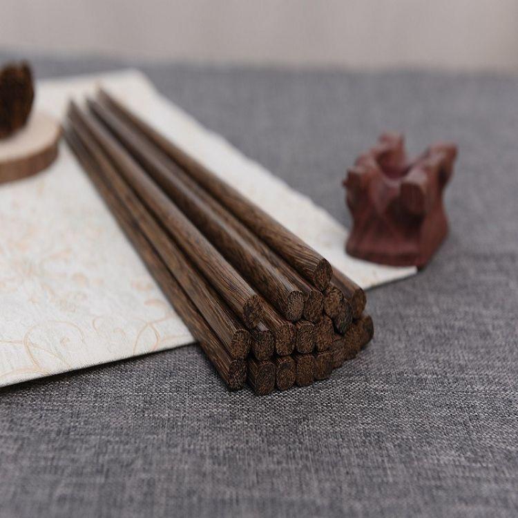 无漆无蜡 30CM鸡翅木火锅筷子 厂家批发加长实木捞面筷油炸木筷子