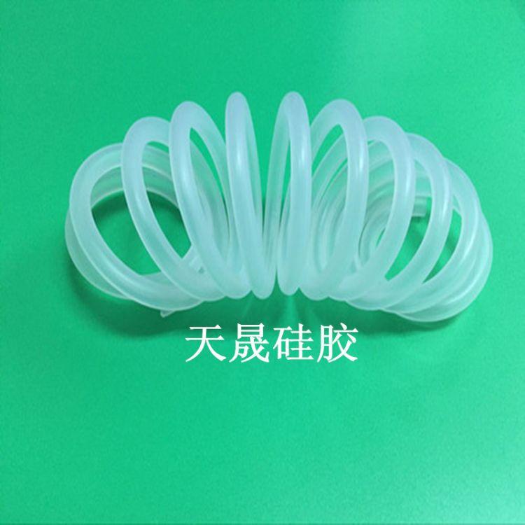 螺旋波纹管 硅胶油管 弹簧硅胶管 螺旋弹簧硅胶管 食品级螺旋管