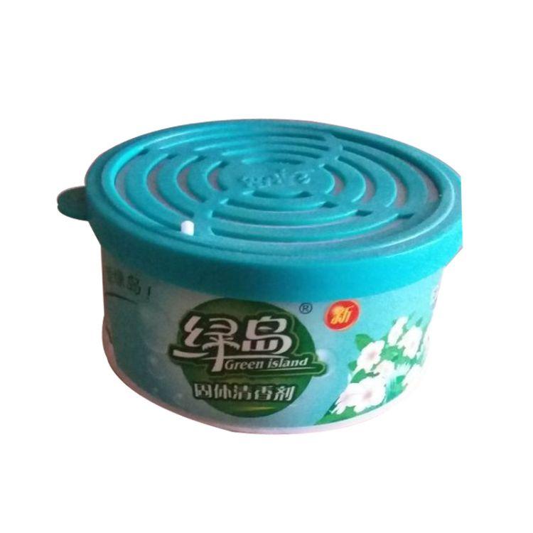 批发绿岛空气清香剂茉莉香型KTV汽车卧室厕所鞋柜除味除臭芳香剂