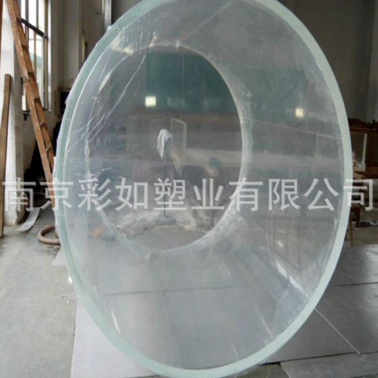 鱼缸有机玻璃圆形 有机玻璃透明鱼缸 圆柱形鱼缸可定做