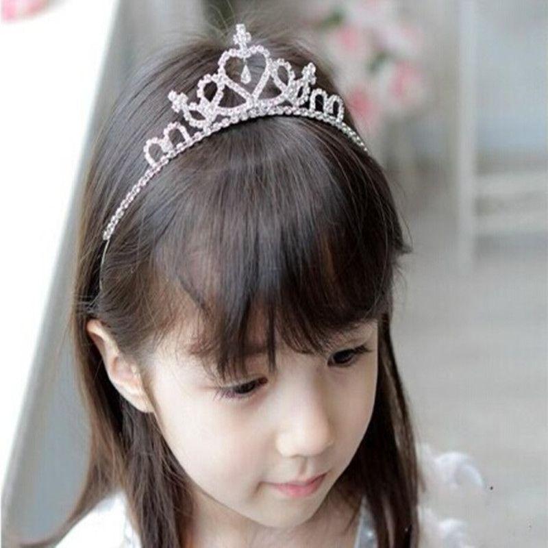 公主皇冠头饰发饰品888水钻爱心皇冠精美儿童礼服配饰皇冠批发