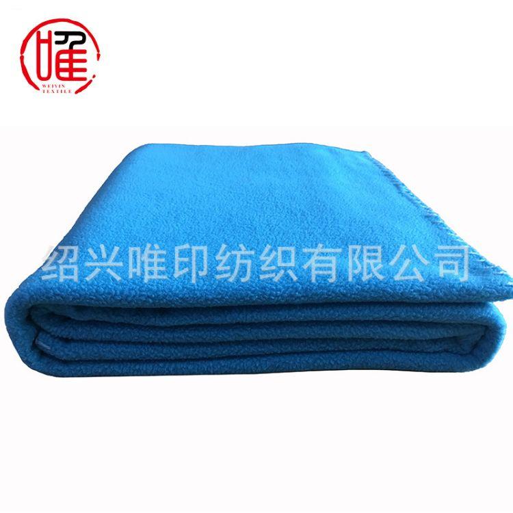 定制生产外贸出口摇粒绒毯子双面绒毛毯