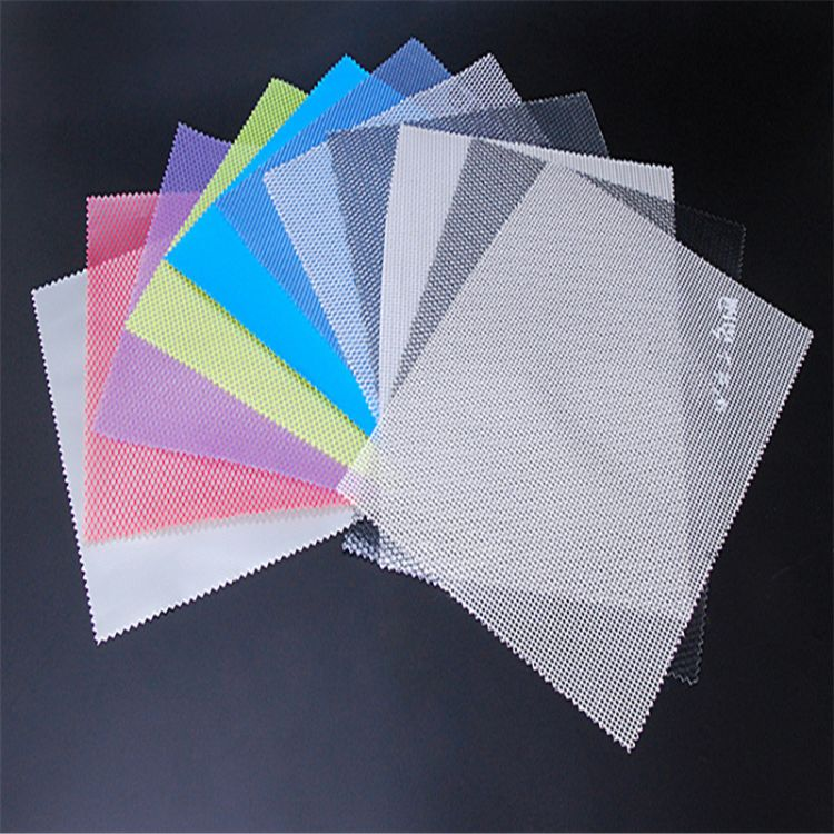 供应PEVA夹网布PEVA网布代替PVC网布