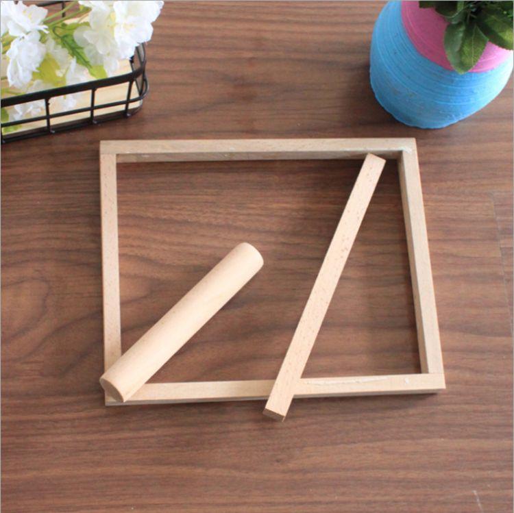 牛扎糖工具套装 小方子小圆木模具 DIY牛轧糖切割工具三件套定制