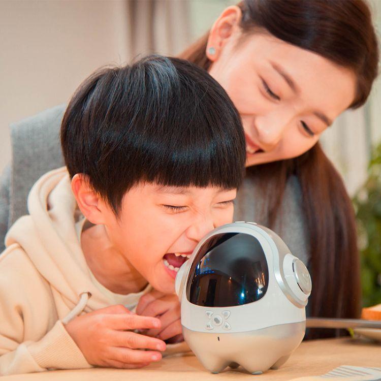 启蒙号二代  儿童智能机器人  语音对话早教机学习 互动陪护玩具