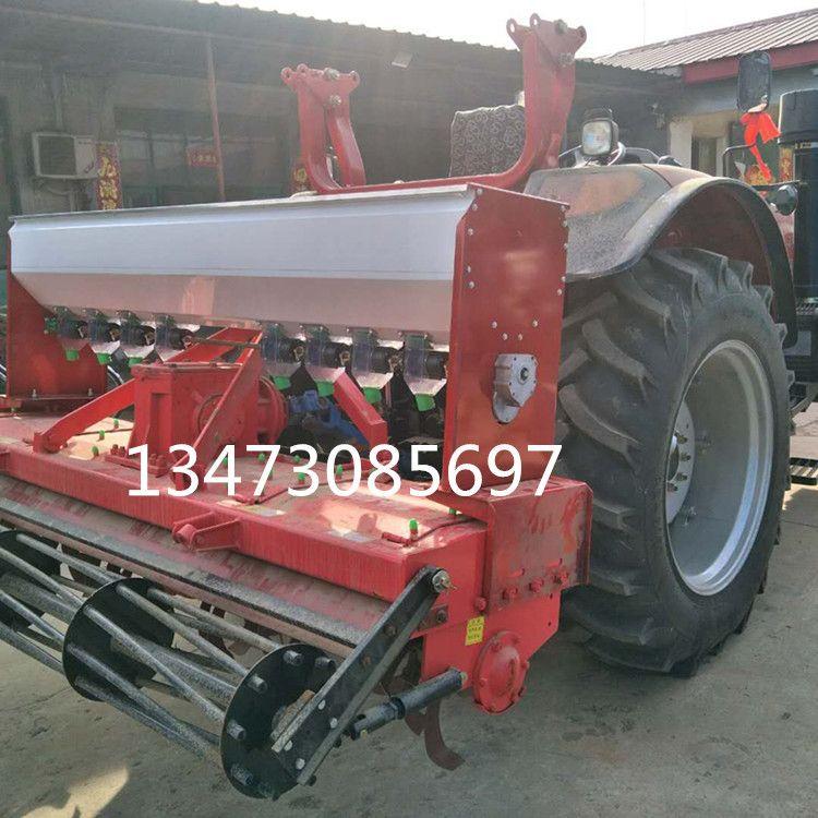 翔洲撒肥机中型拖拉机旋耕机施肥机 水田打浆机撒肥机 电动施肥器