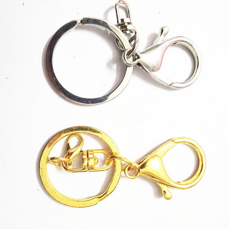 定制金属龙虾扣包包挂件 锌合金钥匙扣 钥匙圈 狗扣饰品配件批发