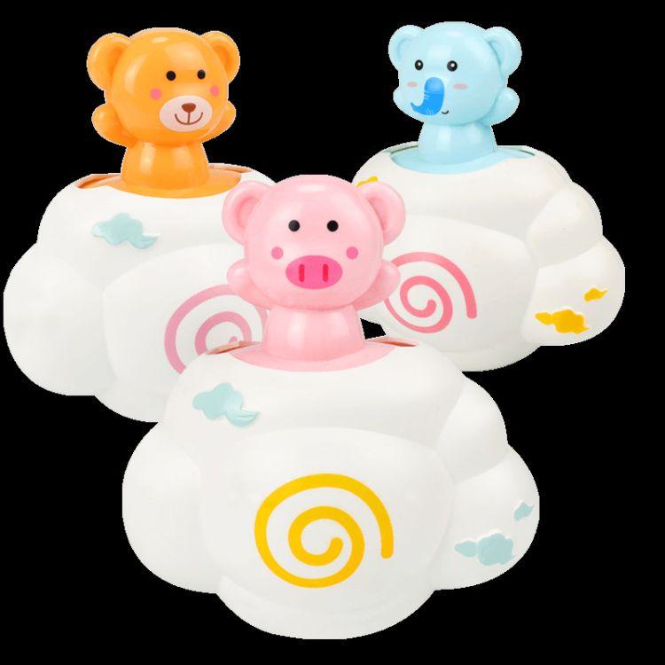 儿童洗澡戏水玩具云朵下雨宝宝趣味婴幼儿小猪云朵花洒厂家直销