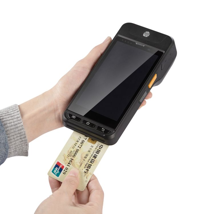 安卓手持終端高頻手持機 安卓手持機/帶打印掃描手持機ic刷卡PDA