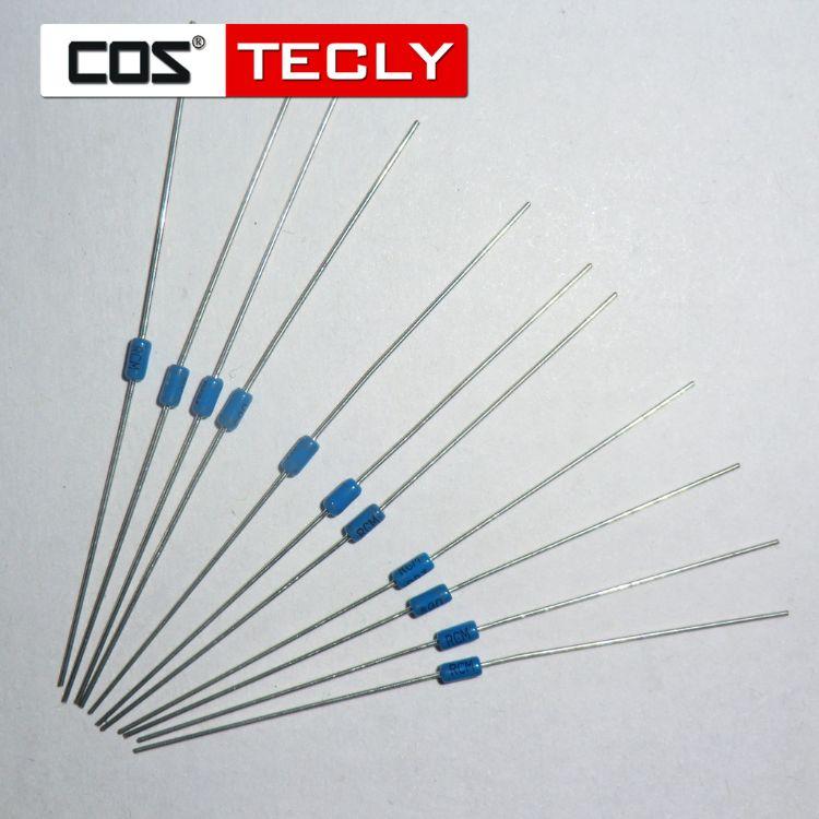 【特价】正品双向触发二极管DB3直插件DO-35厂家直销蓝色玻璃管