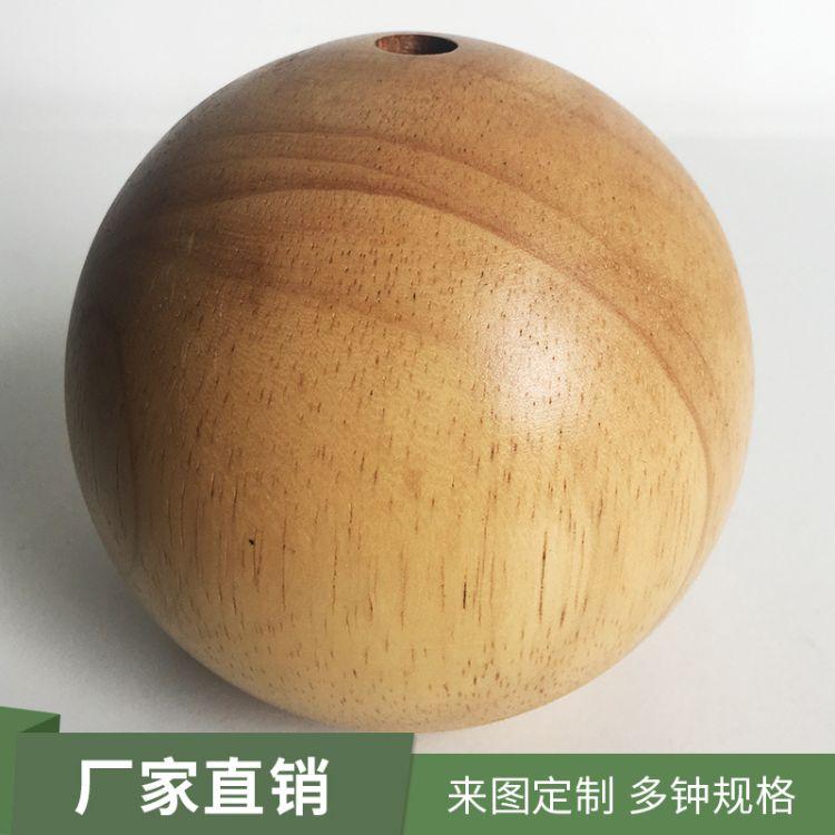 优材竹木工艺制品 厂家直销 支持定制 圆球木工艺制品 多种规格