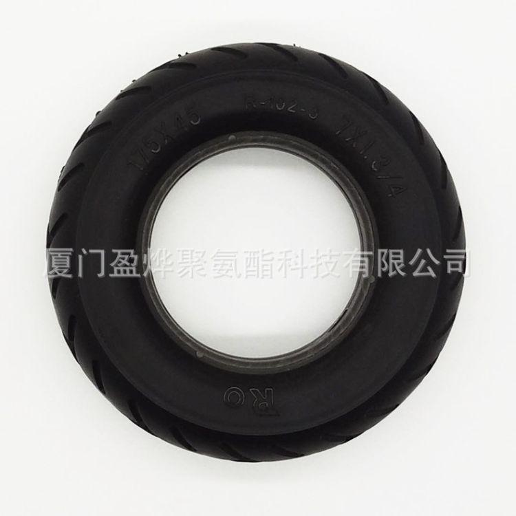 厂家供应可定制聚氨酯发泡制品 聚氨酯弹性体 聚氨酯pu实心轮胎