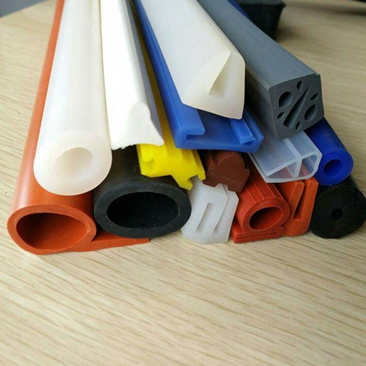 P型e型 耐高温硅胶密封条 硅胶水密条 方型发泡硅胶条