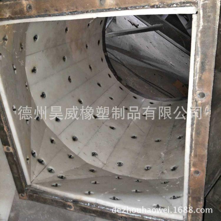 厂家直销含油尼龙衬板 耐磨煤仓衬板 不占料粮仓衬板 溜槽衬板