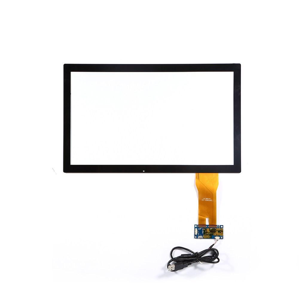 厂家直销触摸屏21.5寸电容触摸屏G+G结构USB接口厂家直销可定制