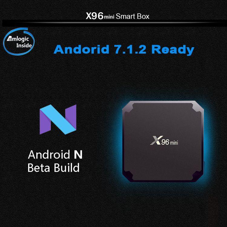 X96 mini网络播放器Android 7.1 Smart TV BOX 1GB8GB Kodi 17.1