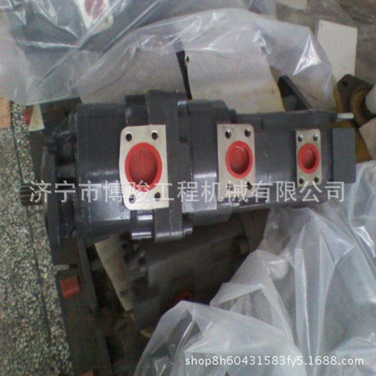 济宁吊车配件齿轮泵三一全液压汽车吊起重机配件品牌