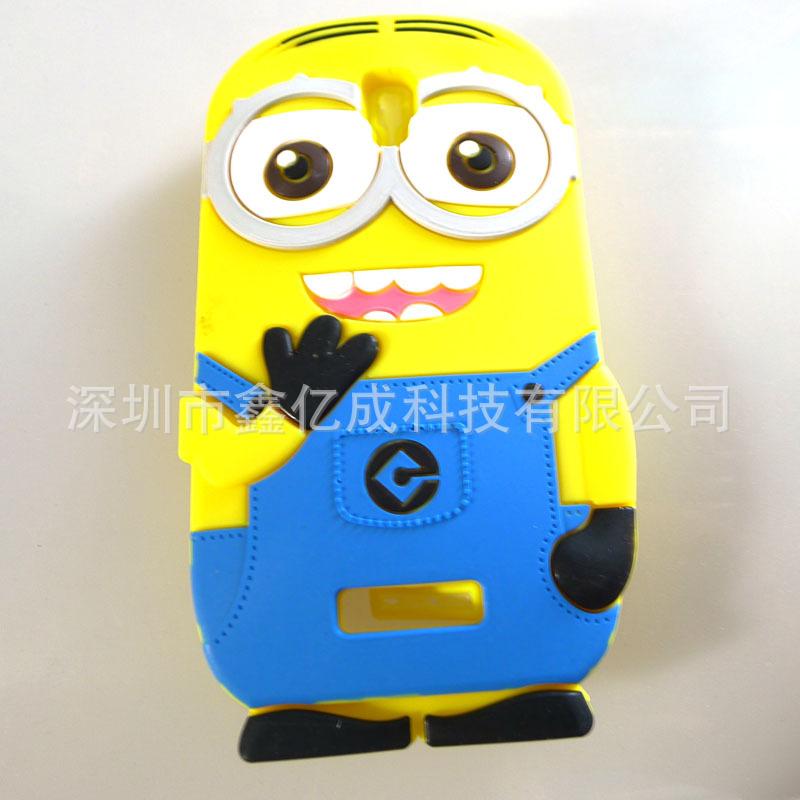外贸原单 韩版时尚可爱硅胶手机壳环保硅胶手机套硅胶工艺品