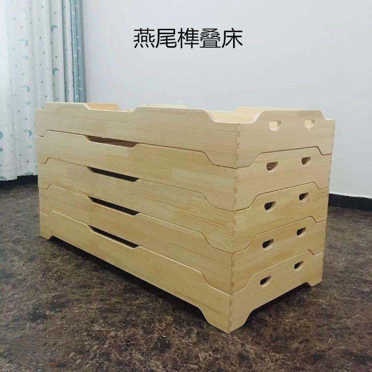 厂家直销幼儿园床儿童实木午睡床幼儿园叠叠床叠落床幼儿园小床