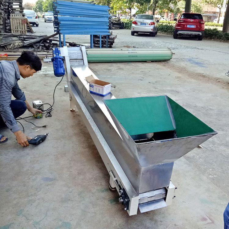 厂家定制链板式输送机 流水线车间生产输送线 皮带输送设备流水线