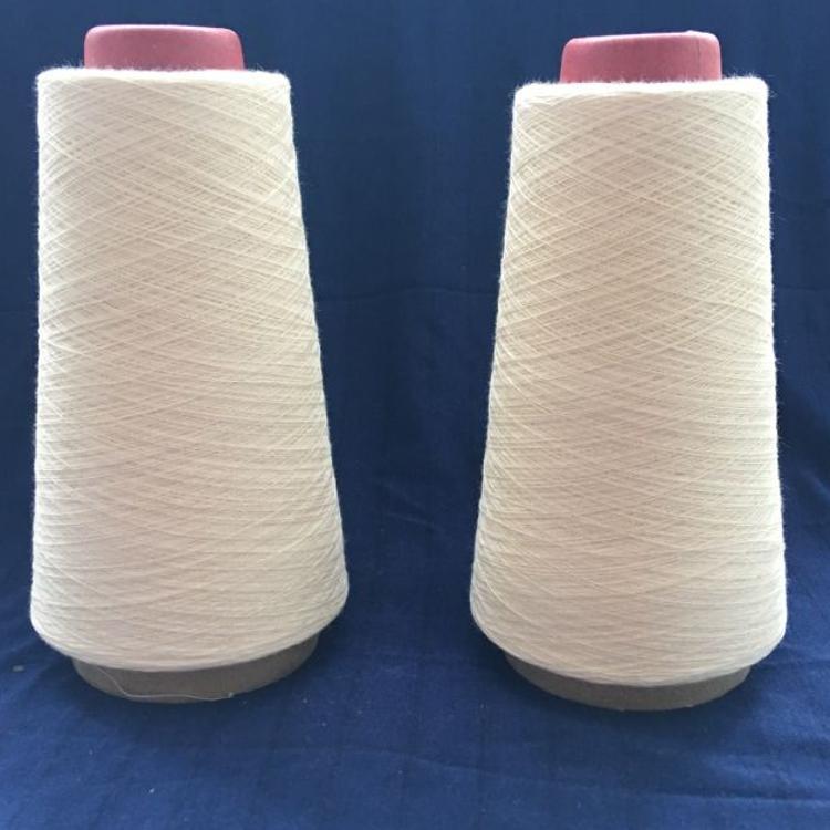 涤纶缝纫线502 晴纶粘胶混纺纱21支32支膨体晴纶棉合股纱16*2