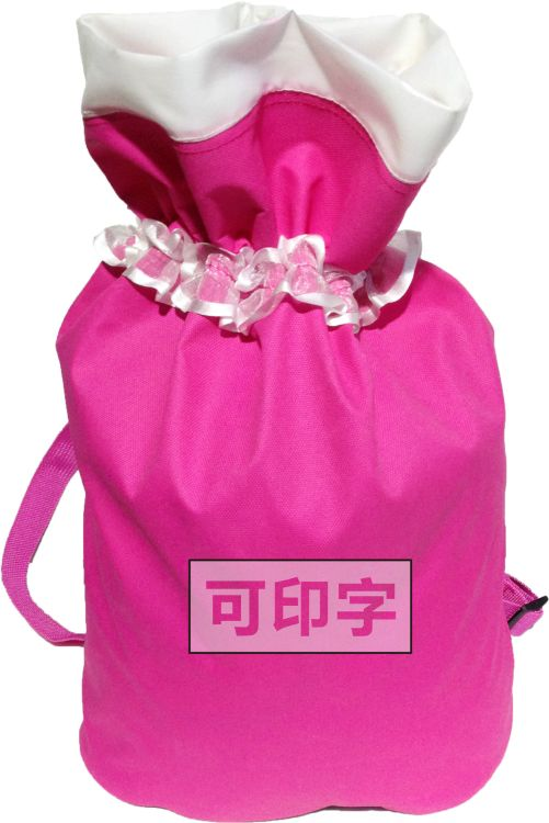 儿童舞蹈包 双肩背包 蕾丝舞蹈包  可调节背带 可印字