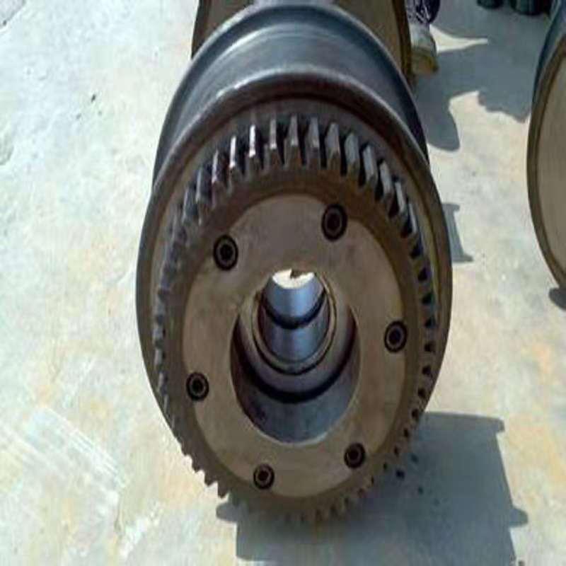 起重机多用车轮工厂现货起重机行走轮双沿边主被动锻钢车轮