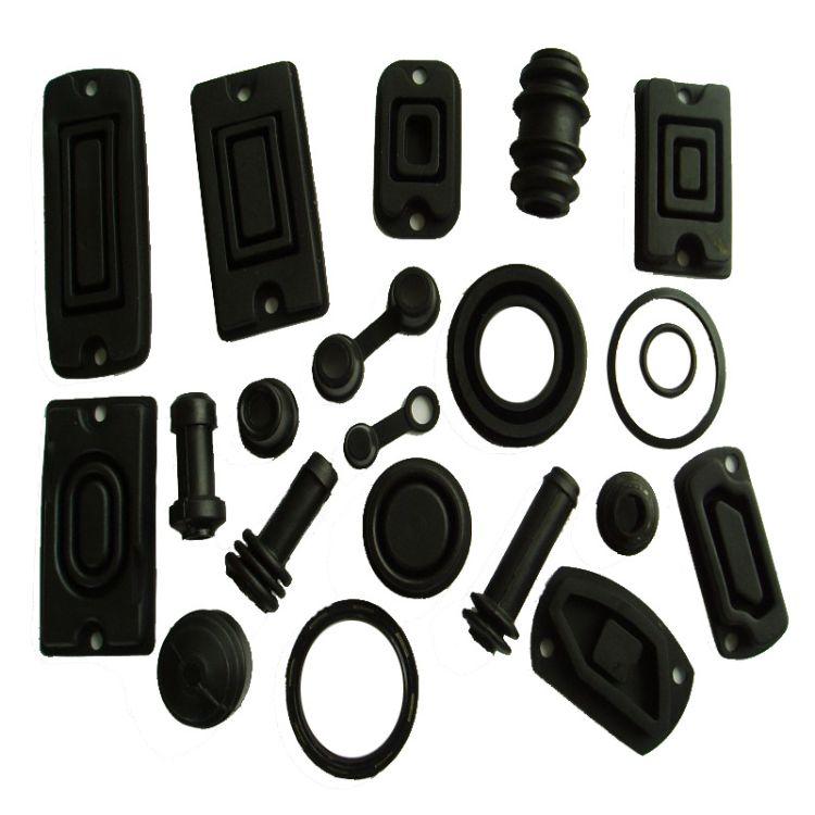 厂家直销硅橡胶制品按键耐高温胶塞 工业用橡胶堵头 橡胶件加工