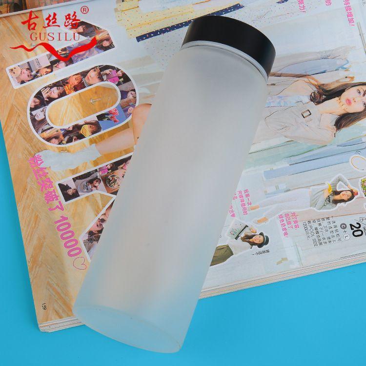 古丝路单层玻璃杯 高硼硅玻璃杯 便携玻璃茶杯创意水晶杯定制LOGO