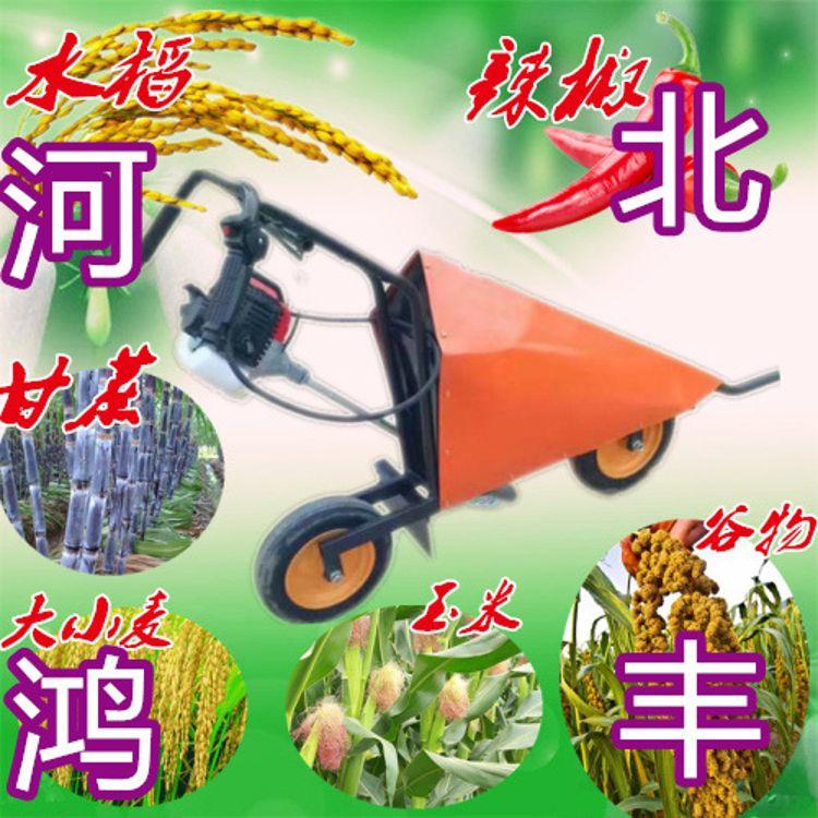 厂家供应水稻小麦收割机 手扶式牧草收割机多功能辣椒收割机