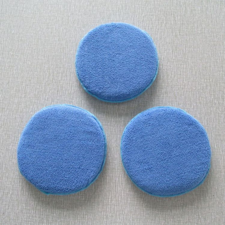 洗车圆饼 抛光打蜡海绵 洗车打蜡专用海绵 清洁用品批发 厂家定制