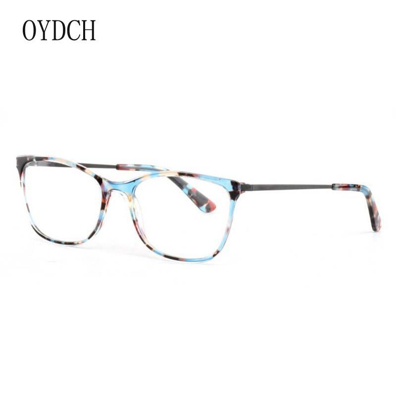 新款時尚優雅女士眼鏡框高檔板材配金屬眼鏡架經典光學眼鏡