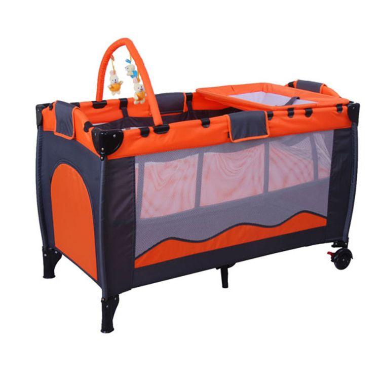 婴儿床 多功能便携式婴儿摇篮床 落地式婴儿游戏床