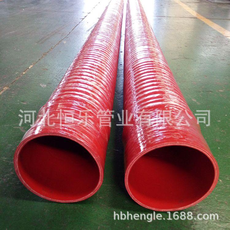定制生产大口径硅胶管100mm@耐高温硅胶管@工业硅胶管生产厂家