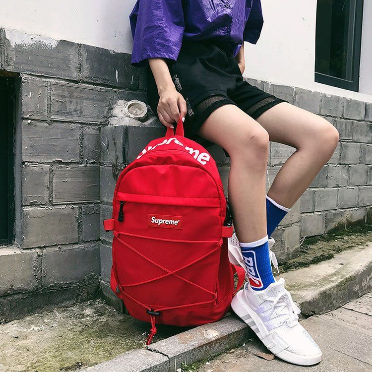 SUP双肩背包外贸新品防水包书包男女时尚休闲背包户外旅行背包