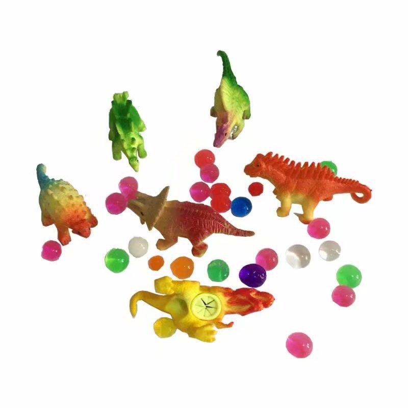 膨胀玩具仿真下蛋恐龙会长大会下蛋恐龙玩具套装动物模型