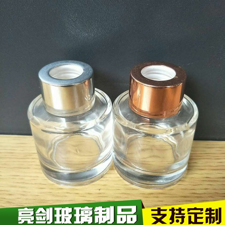加厚玻璃香薰玻璃瓶 藤条香薰瓶玻璃香水瓶 厂家直销化妆品包装瓶
