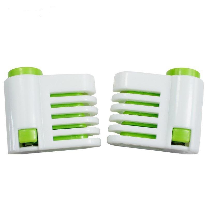 烘焙工具 蛋糕面包切割分片器分割器分层器 活动价格颜色为白绿色