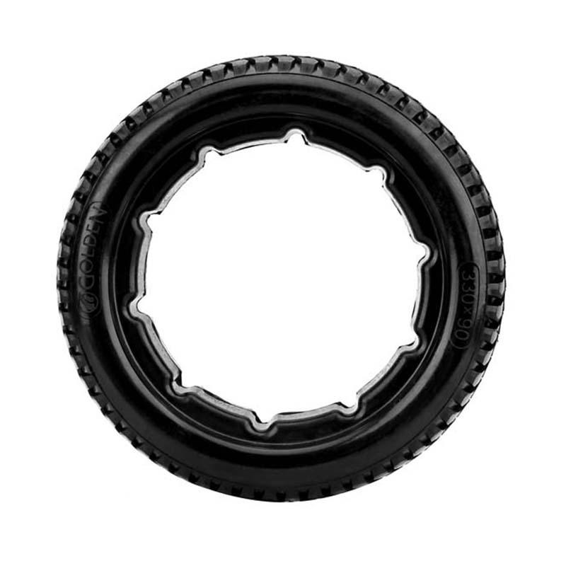 手推轮椅配件 13寸专用轮 免充气车轮实心PU轮胎 批发